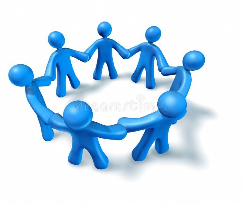 Download Teamwork friendship stock illustration. Image of world - 14070928