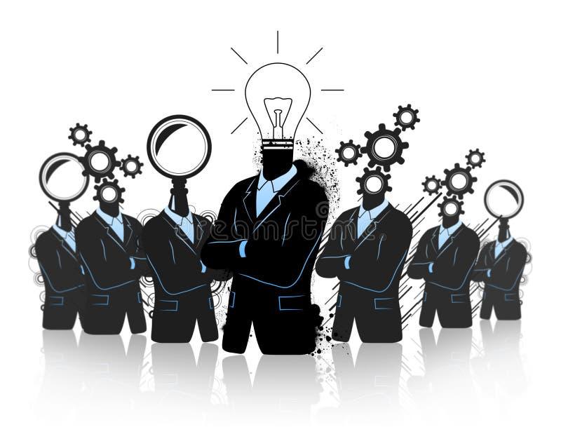 Teamwork For Growth And Progress Stock Illustration Illustration