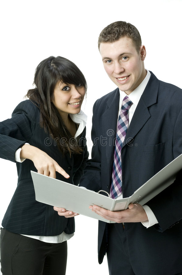 Free Teamwork In The Office Royalty Free Stock Images - 4816969