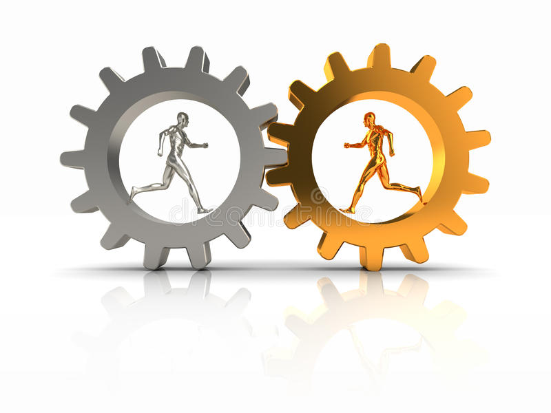 Teamwork-Konzept vektor abbildung
