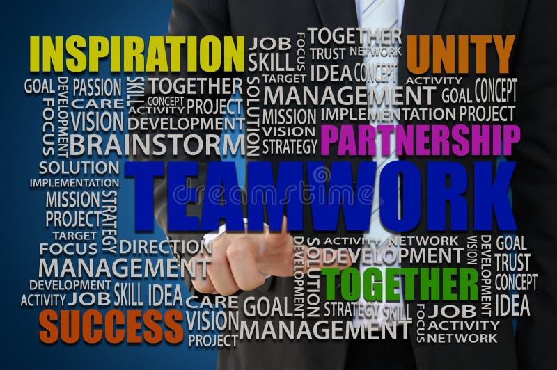 Teamwork-Konzept stockbilder