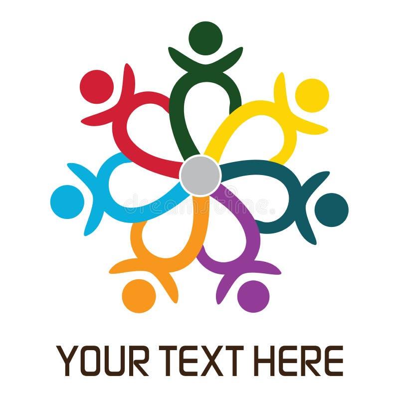 Download Teamwork logo stock illustration. Illustration of circles - 20216112