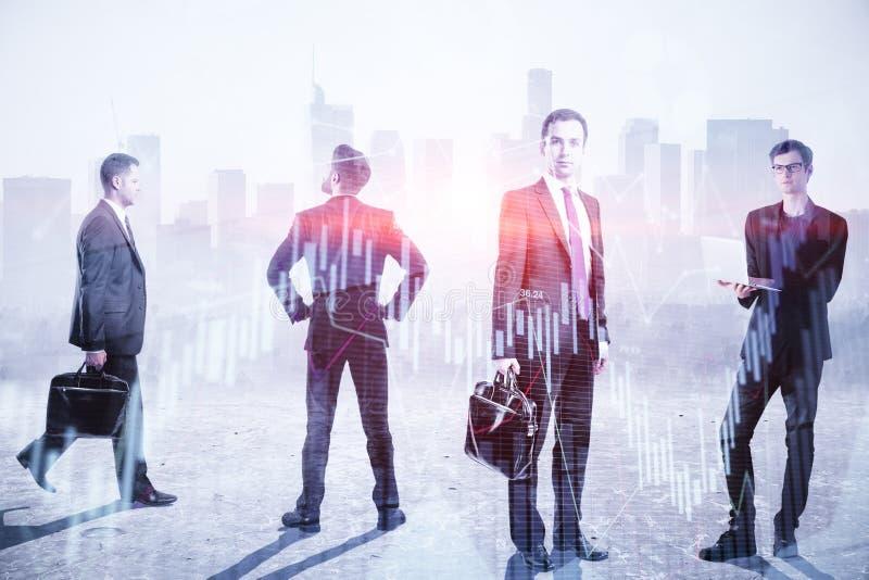 Teamwork-, möte- och ockupationbegrepp royaltyfria bilder