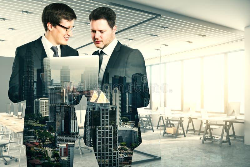 Teamwork and partnership concept vector illustration