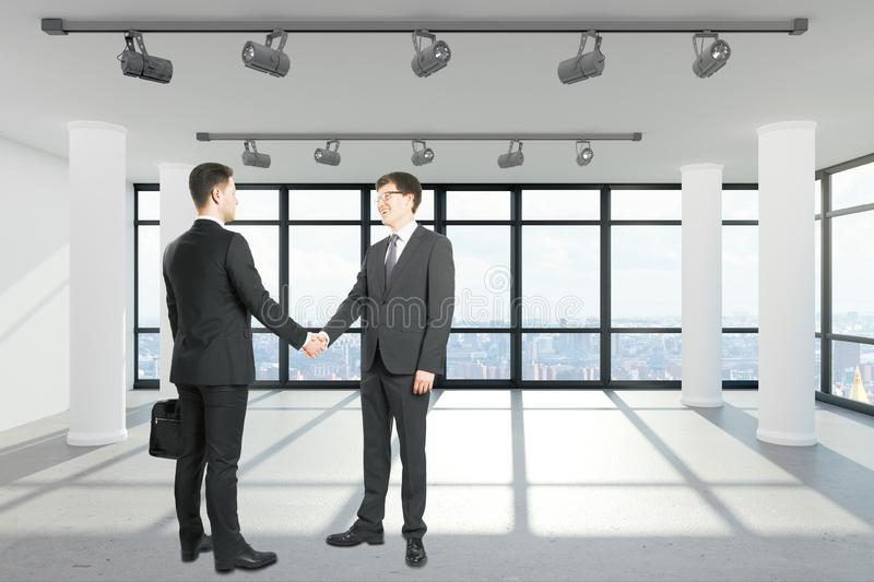 Teamwork and partnership concept royalty free stock images