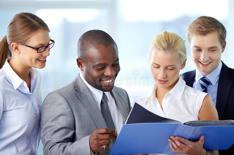 Download Teamwork stock image. Image of multi, group, employment - 32047473