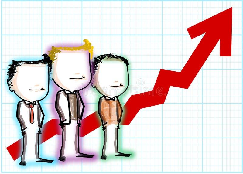 Download Teamwork success stock illustration. Illustration of growing - 23790271