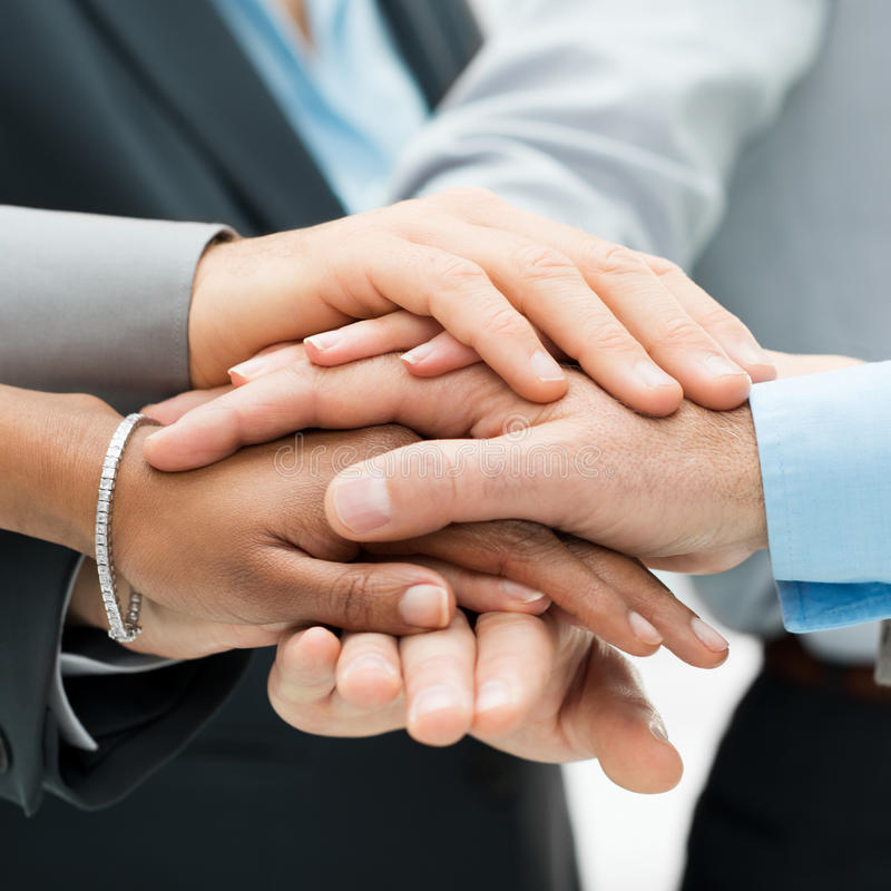 Teamwork And Support Royalty Free Stock Photography