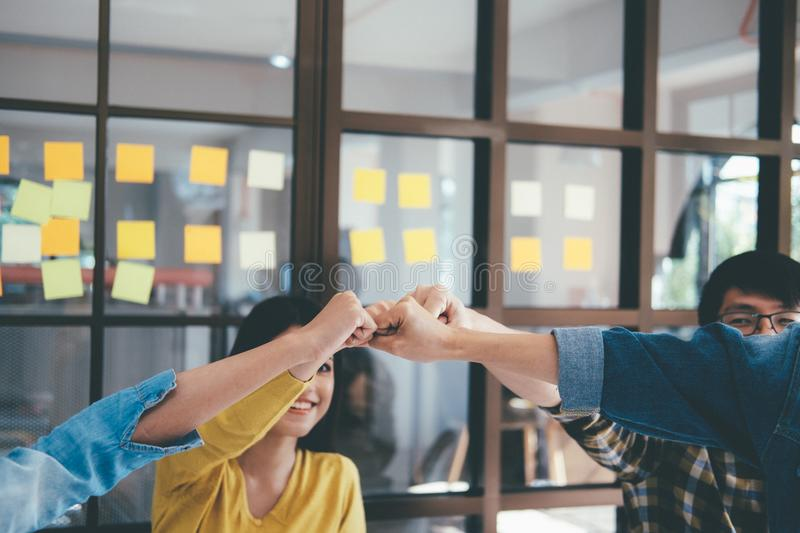 Teamwork Togetherness Collaboration Concept royalty free stock photo