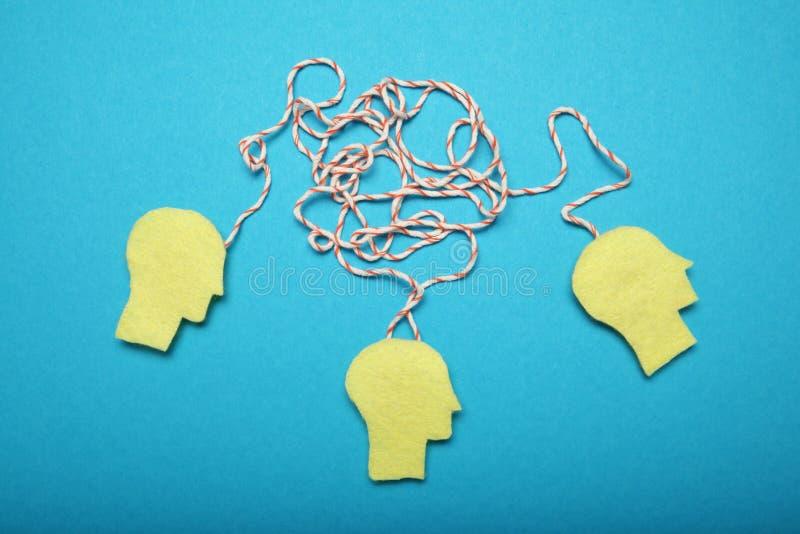 Teamwork und Brainstorming Erfolgsidee, Gesch?ftstreffen stockfotos