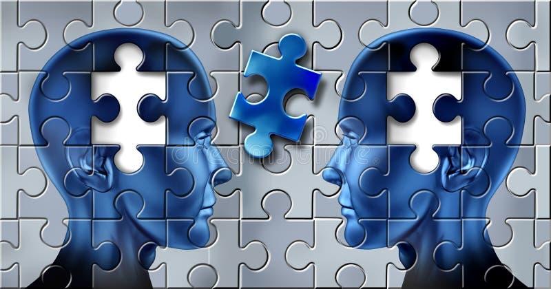 Teamwork und Ideen lizenzfreie abbildung