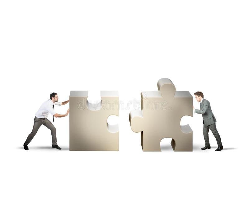 Teamwork- und Teilhaberschaftskonzept lizenzfreie stockbilder