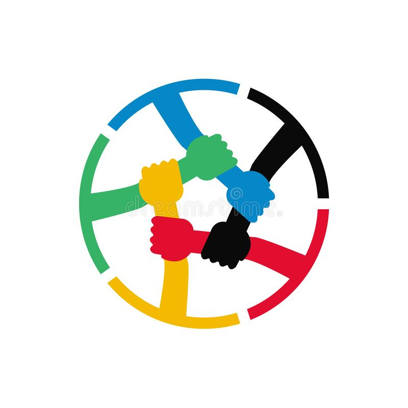 Teamwork Vector Icon vector illustration