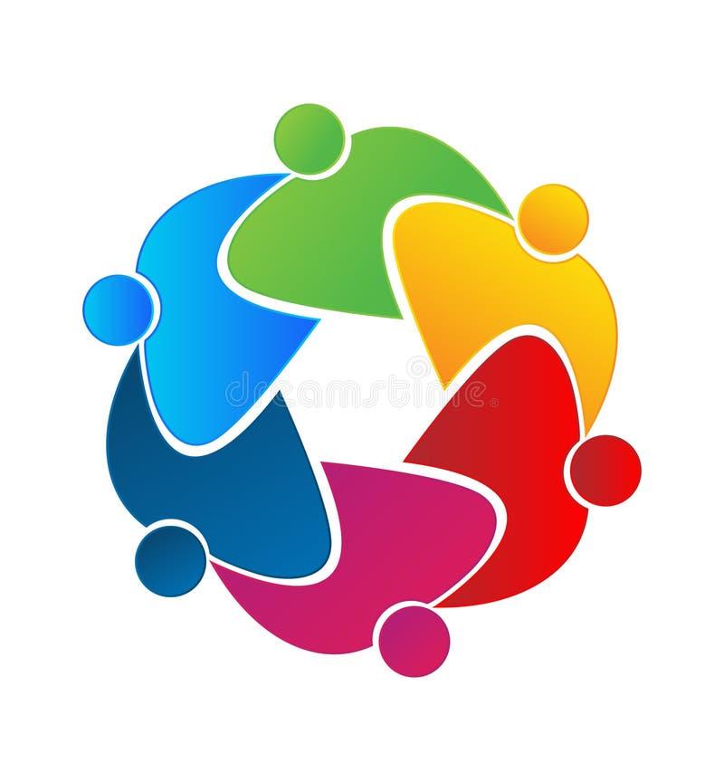 Teamwork-Verbandsleutekonzept vektor abbildung
