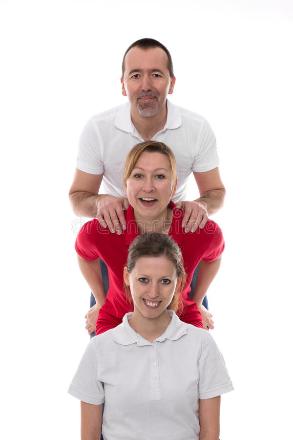 Download Teamwork stock image. Image of dynamic, standing, care - 38536521
