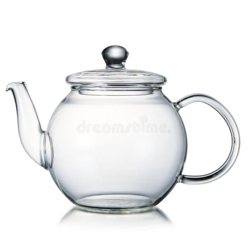 Teapot γυαλιού στοκ φωτογραφία