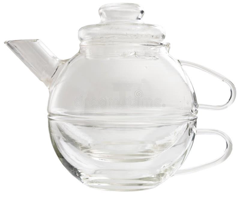 teapot γυαλιού στοκ εικόνες