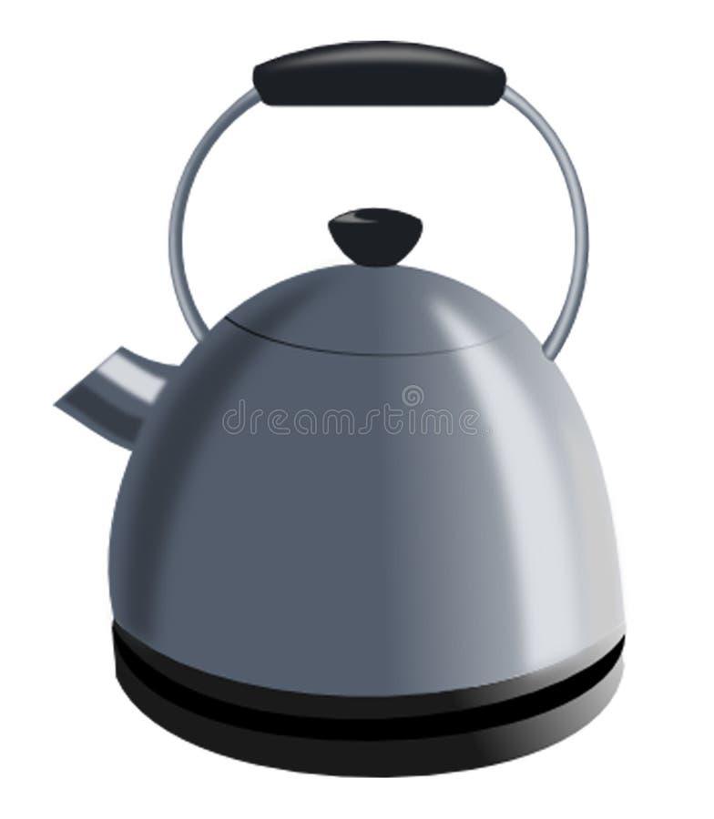 teapot κατσαρολών απεικόνιση αποθεμάτων
