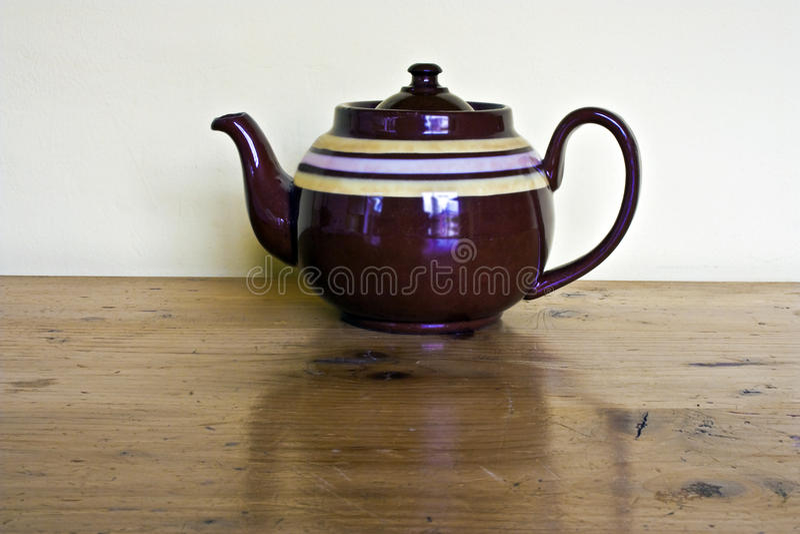 Download Teapot stock photo. Image of brown, closeup, stoneware - 14177930