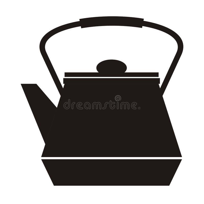 teapot ilustração do vetor