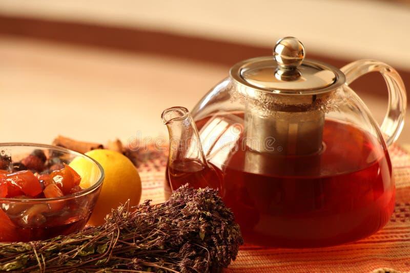 teapot royaltyfri foto