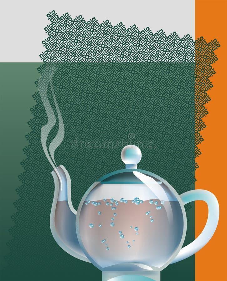 Download Teapot stock illustration. Image of boiled, image, black - 823445