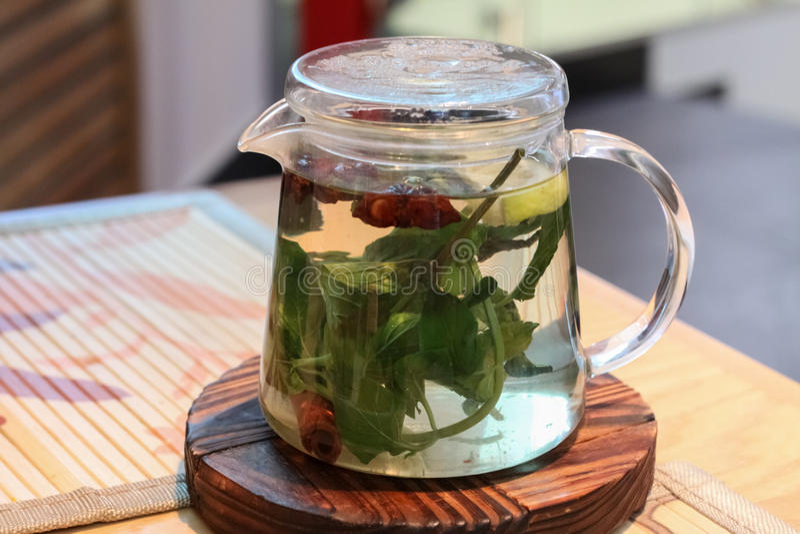 The teapot stock photo