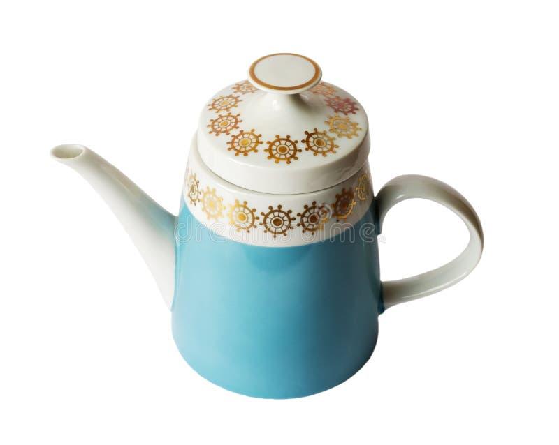 Teapot da porcelana fotografia de stock