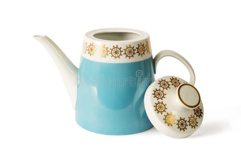 Teapot da porcelana imagens de stock