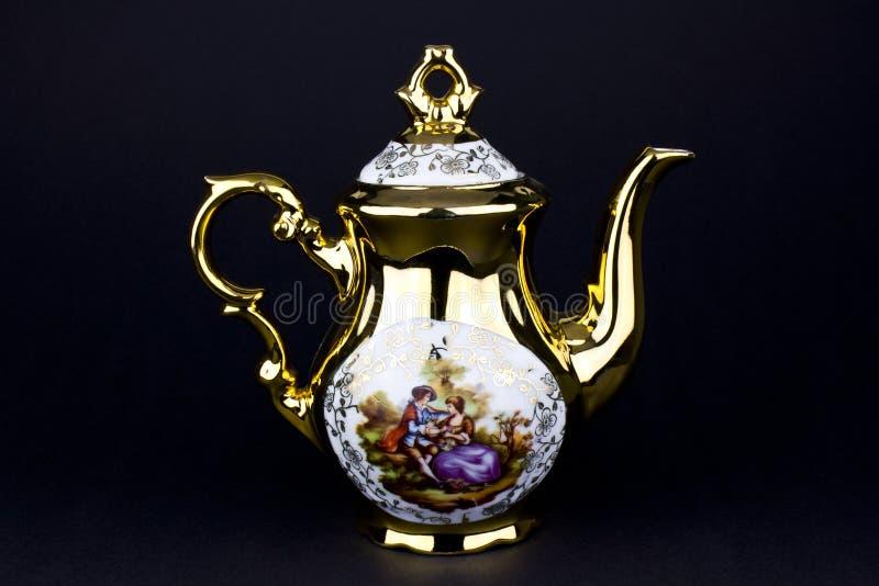 Teapot da porcelana foto de stock royalty free