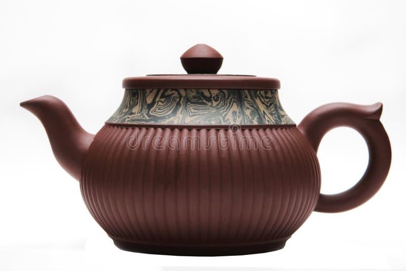 Teapot de Japão foto de stock
