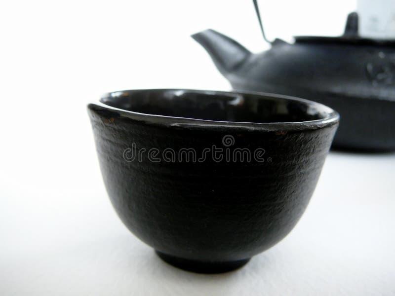Teapot e copo foto de stock royalty free