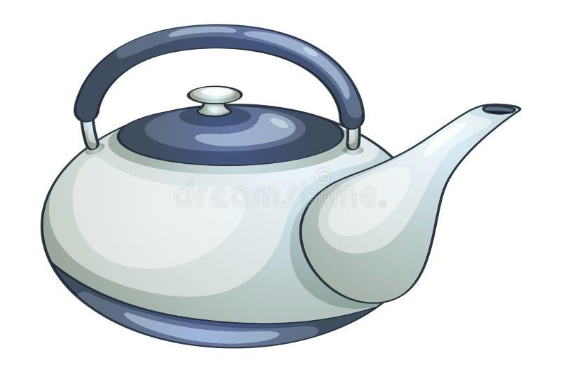 Teapot. Illustration of a ceramic teapot royalty free illustration