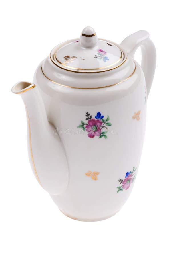 Teapot macro stock image
