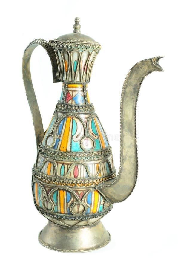 Teapot marroquino fotografia de stock royalty free