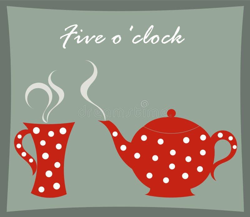 Teapot And Mug Royalty Free Stock Images