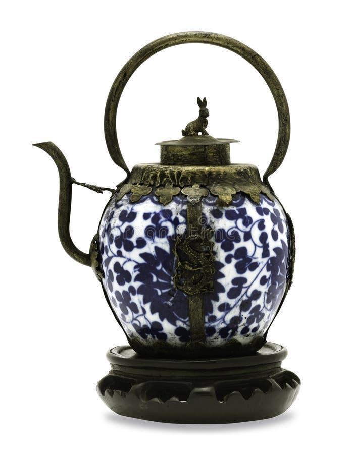 Teapot retro foto de stock royalty free