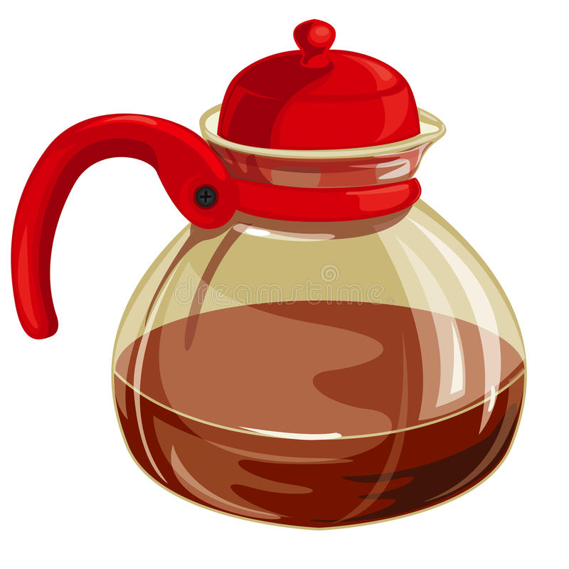 Teapot With Tea Royalty Free Stock Photography