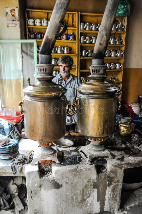 Teapots στο Αφγανιστάν στοκ εικόνες