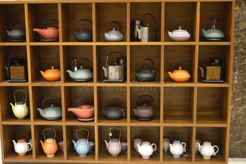 teapots foto de stock