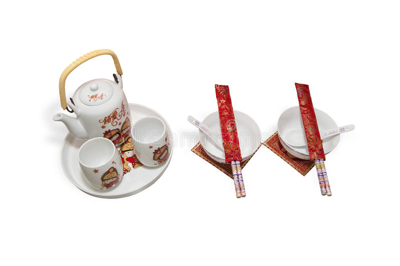 Download Teapots And Bowls Royalty Free Stock Photos - Image: 20343748
