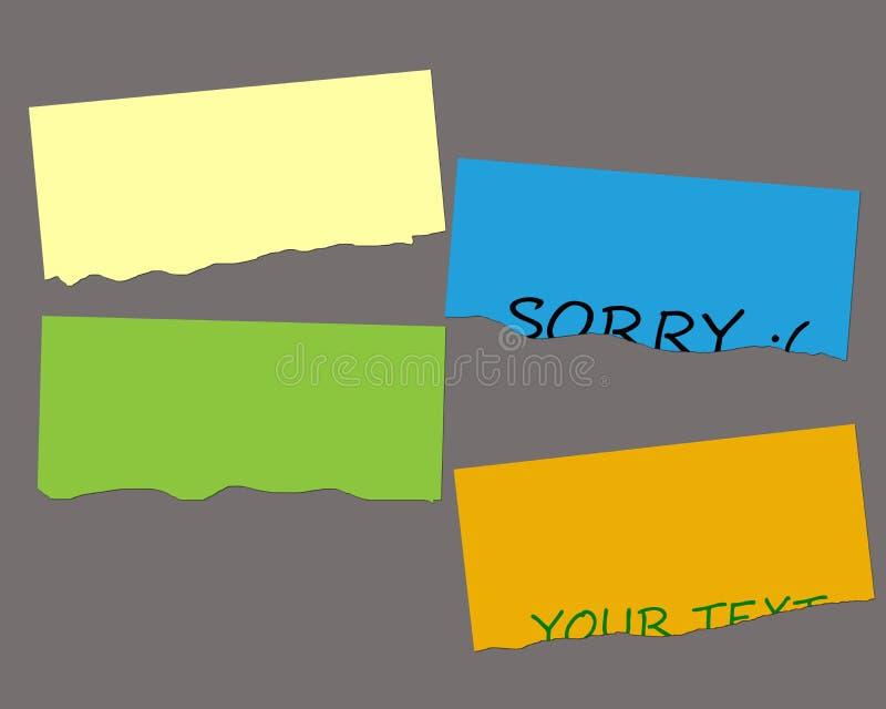 Download Tear Greeting Card stock illustration. Illustration of communicate - 27359830