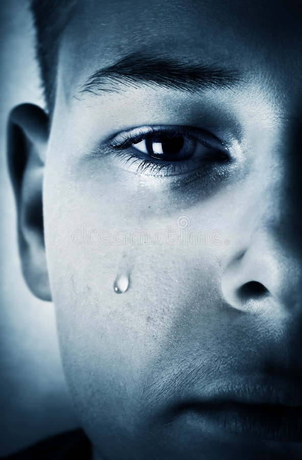 Download Teardrop stock photo. Image of exhaustion, close, loneliness - 4783964