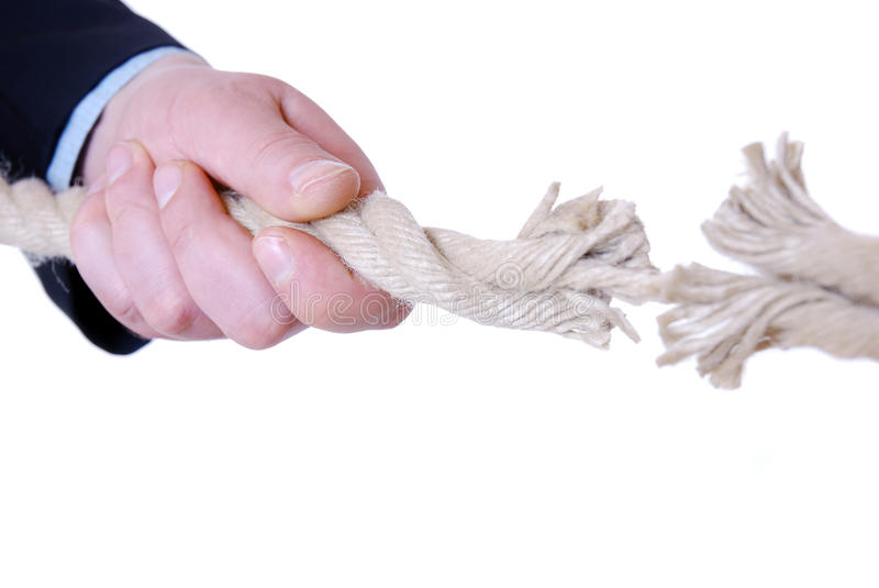 Download Tearing cord stock photo. Image of together, white, power - 13285180