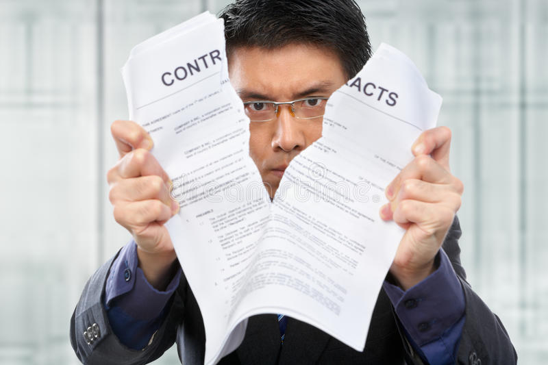 Download Tearing up the contacts stock photo. Image of tearing - 14680830