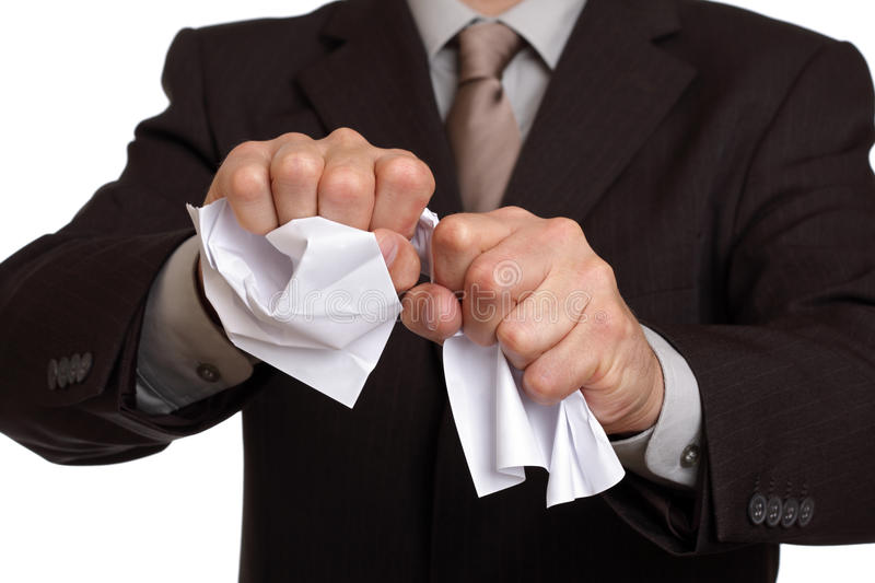 Download Tearing Up The Contract Stock Photos - Image: 21668533