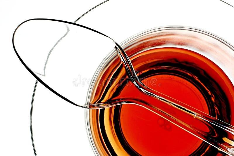 Download Teaspon On Teacup stock photo. Image of orange, still, abstract - 232710