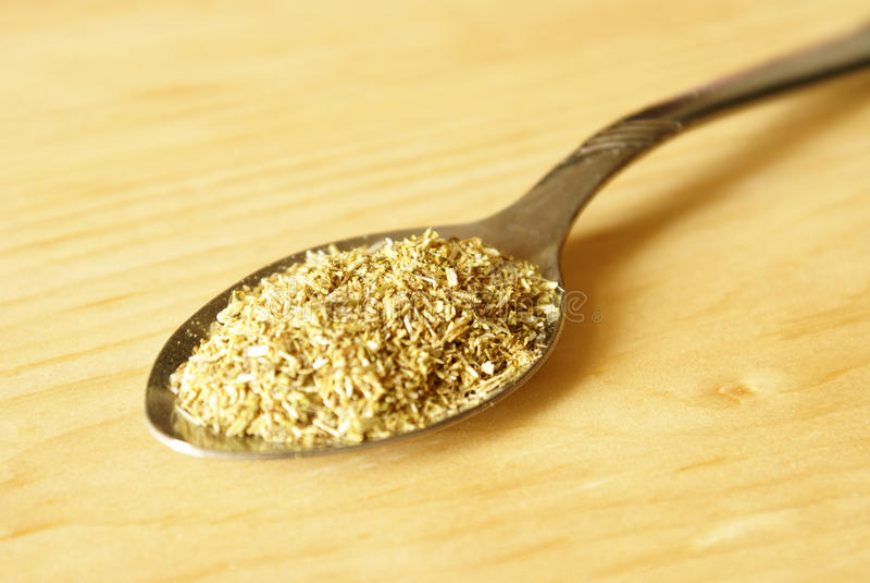 Download Teaspoon of Chamomile Tea stock image. Image of spoonful - 20462289