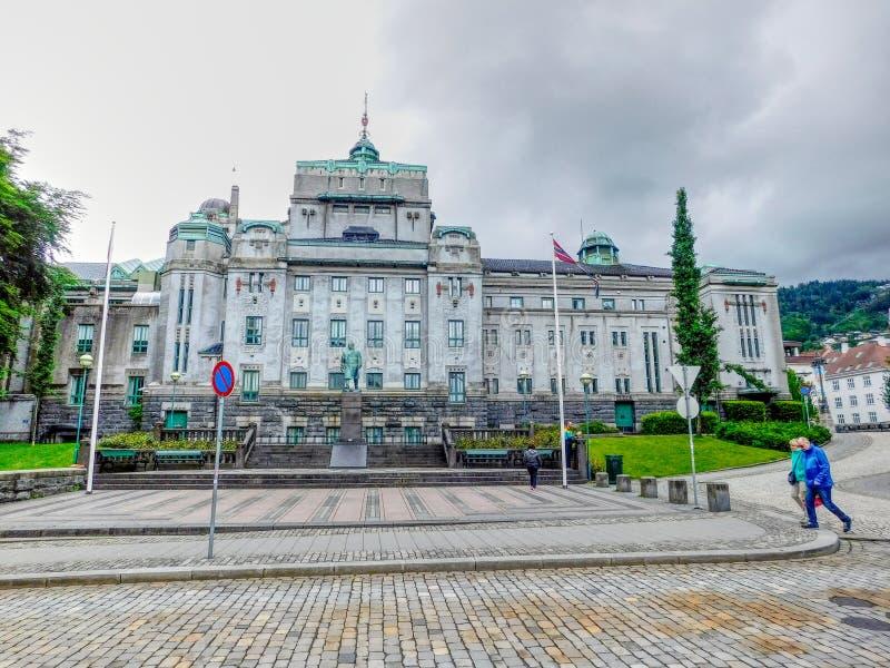 Teater av Bergen arkivbild