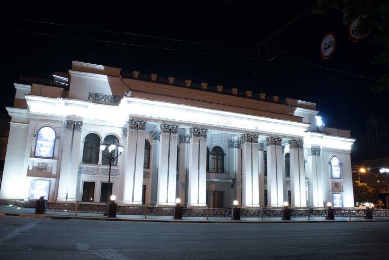 Teater av dramat royaltyfri fotografi
